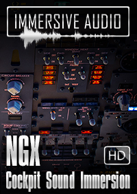 IMMERSIVE AUDIO - NGX COCKPIT SOUND IMMERSION FSX P3D